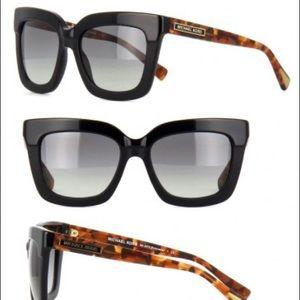 Michael Kors Polynesia black sunglasses